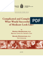 Complicated and Complex Systems:What Would Successful Reformof Medicare Look Like?