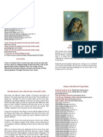 Novena in Honor of Our Mother of Sorrows + Litany BOOKLEt