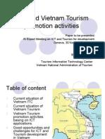 ICT and Vietnam Tourism promotion activities