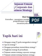Sesi 2 Tinjauan Umum Corporate Dan Business Strategy