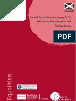 Social Attitudes 2011