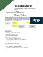 Design Pattern Sarrans