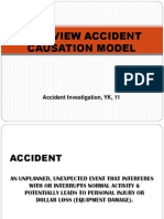 Overview Accident Causation Model 2011