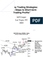 Jeff Cooper - Intra-Day Trading Strategies, Proven Steps