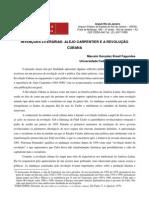 Marcelo Gonzalez Brasil Fagundes Intençoês Literárias Alejo Carpentier e a Revoluçaô Cubana