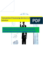 Transaction Processing Service in Bangalore-S3 Solution