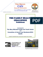 Sen. Rivera's Bronx CAN Family Health Challenge Guidebook in English