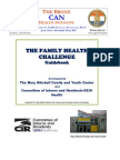 Sen. Rivera's Bilingual  Bronx CAN  Family Health Challenge Guidebook