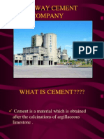 1.2 Manufacturing of Portland Cement