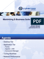 Maximizing E-Business Suite Performance