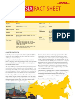 Exporting to Russia? DHL Fact Sheet