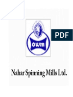 Indian Textile and Nahar Spinning