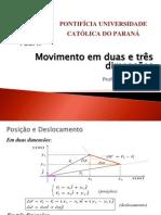 Capítulo 4 - movimento em 2 e 3 dimensões