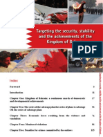 Targeting the security, stability and the achievements of the Kingdom of Bahrain