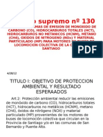 Decreto supremo nº 130