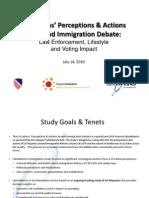 HF Latino Metrics Immigration Brief Study 07-14-10 Final