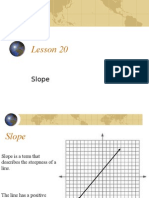 Algebra 1 > Notes > YORKCOUNTY FINAL > YORKCOUNTY > Lesson 20 - Slope