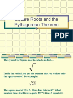 Algebra 1 > Notes > YORKCOUNTY FINAL > YORKCOUNTY > Unit 8 - Polynomial > Square Roots and the Pythagorean Theorem