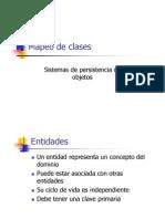 4. Mapeo de clases