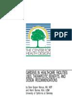 Gardens In Healthcare Facilities