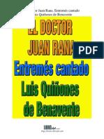 El doctor Juan Rana. Entremés cantado