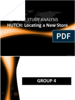 Group 4 - Hutch-Location a New Store