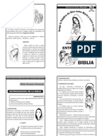 Entronizacion de La Biblia