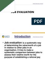 Job Evaluation Final