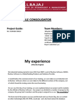 File Consolidator Training Ppt