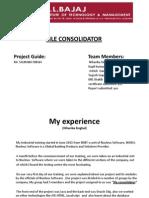 File Consolidator Training Ppt