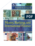 Money, Banking, and International Finance