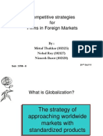 Group 5_Competitive Strategies in Foreing Markets
