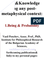 Being-Probability