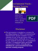 Forklift Pit Ppt