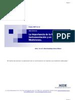 Import an CIA de La Metrologia en La Instrumentacion y La Medicion