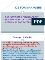 Economics For Managers - Session 03