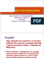 Economics For Managers - Session 05