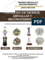 Catalogo Trofeos Victoria 2001