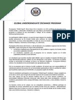 Global Undergraduate Exchage Program - Afiche Octubre 2011