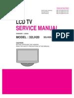 LCD TV 32LH20, 32LH20-UA (Chassis LA92A) Service Manual