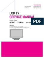 LCD TV 32LH20, 32LH20-UA (Chassis LA92A) Service Manual
