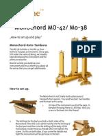 Monochord MO-42 Ifo En