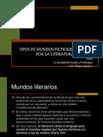 Tipos de Mundo Segun La Literatura