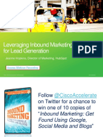 Leveraging Inbound Marketing for Lead Generation