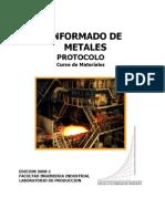Protocolo Conform Ado de Metales