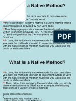 What Is a Native Method