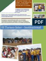 III Torneo Inter - Institucional
