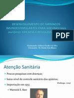 DESENVOLVIMENTO DE FÁRMACOS IMUNOESTIMULANTES PARA ABELHAS (apis