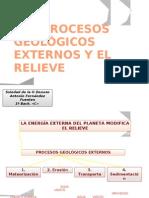 PROCESOS GEOLÓGICOS EXTERNOS