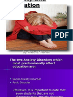Anxiety and Education[1]
